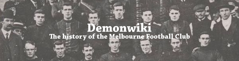 Demonwiki - The history of the Melbourne Football Club